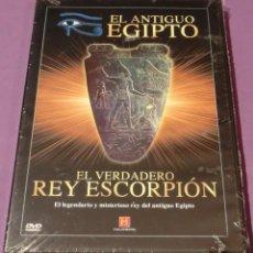 Cine: DVD EGIPTO - EL VERDADERO REY ESCORPIÓN [PRECINTADO]. Lote 130778596