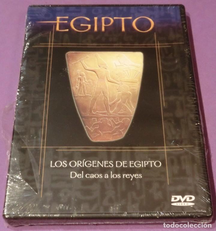 DVD EGIPTO - LOS ORÍGENES DE EGIPTO. DEL CAOS A LOS REYES [PRECINTADO] (Cine - Folletos de Mano - Documentales)