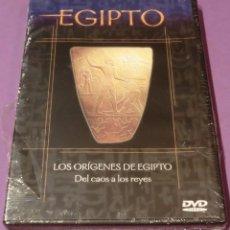 Flyers Publicitaires de films Anciens: DVD EGIPTO - LOS ORÍGENES DE EGIPTO. DEL CAOS A LOS REYES [PRECINTADO]. Lote 130778752