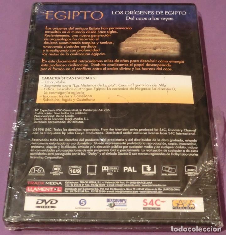 Cine: DVD EGIPTO - LOS ORÍGENES DE EGIPTO. DEL CAOS A LOS REYES [PRECINTADO] - Foto 2 - 130778752