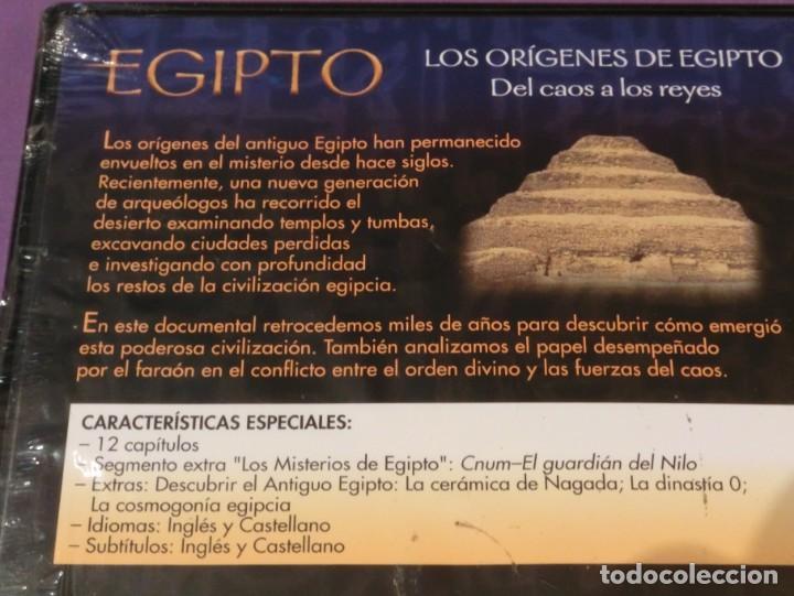 Cine: DVD EGIPTO - LOS ORÍGENES DE EGIPTO. DEL CAOS A LOS REYES [PRECINTADO] - Foto 3 - 130778752