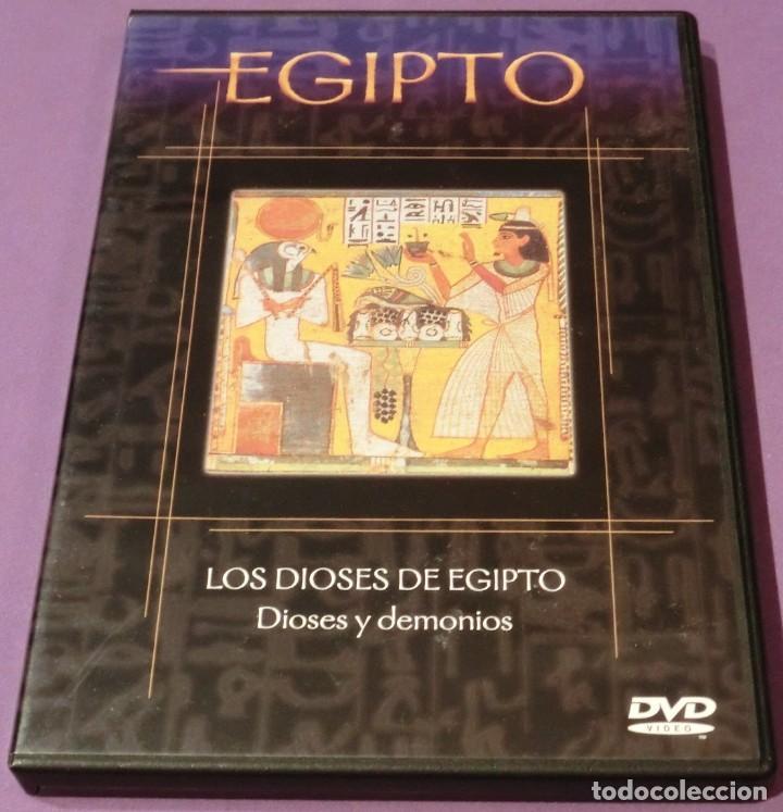 DVD EGIPTO - LOS DIOSES DE EGIPTO. DIOSES Y DEMONIOS (Cine - Folletos de Mano - Documentales)