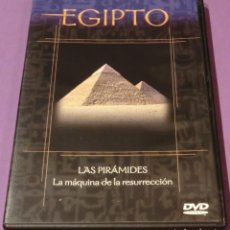 Flyers Publicitaires de films Anciens: DVD EGIPTO - LAS PIRÁMIDES. LA MÁQUINA DE LA RESURRECCIÓN [UN SÓLO VISIONADO]. Lote 130779224