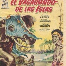 Cine: EL VAGABUNDO DE LAS ISLAS. THE BEACHCOMBER. Lote 131699502