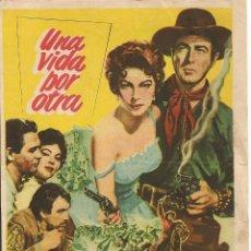 Cine: UNA VIDA POR OTRA (1953). Lote 131772826