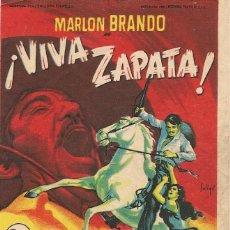 Cine: VIVA ZAPATA (1952). Lote 131773822