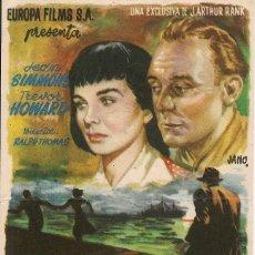 Cine: TRÁGICA OBSESIÓN (1951). Lote 131903610