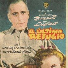 Cine: EL ÚLTIMO REFUGIO (1941). Lote 131904870