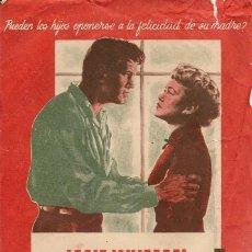 Cine: SÓLO EL CIELO LO SABE (1955). Lote 131968230