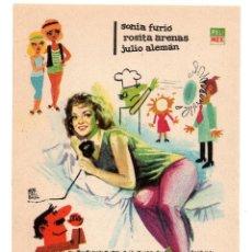Cine: NUESTROS ODIOSOS MARIDOS - SONIA FURIÓ, ROSITA ARENAS, JULIO ALEMAN - AÑO 1964 . Lote 132177666