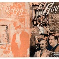 Cine: EL RAYO PROGRAMA DOBLE MERCEDES PRENDES MILAGROS LEAL. DIRECTOR: JOSE BUCHS. TETRO MARCOS BURGOS. Lote 132177906