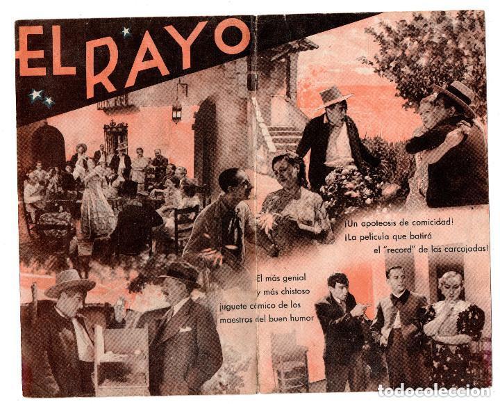 Cine: EL RAYO PROGRAMA DOBLE MERCEDES PRENDES MILAGROS LEAL. DIRECTOR: JOSE BUCHS. TETRO MARCOS BURGOS - Foto 2 - 132177906