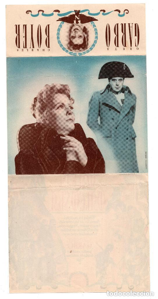 Kino: PROGRAMA DE CINE DOBLE - MARIA WALEWSKA / GRETA GARBO, CHARLES BOYER - METRO GOLDWYN MAYER - Foto 2 - 132178862