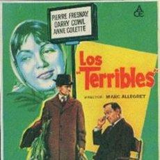 Cine: LOS TERRIBLES. Lote 132337994