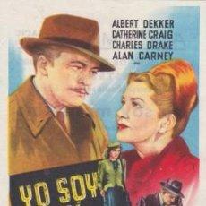 Cine: YO SOY MI ASESINO (CON PUBLICIDAD). Lote 132338654