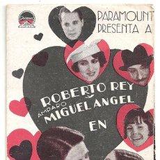 Cine: PTCC 009 SALGA DE LA COCINA PROGRAMA DOBLE PARAMOUNT ROBERTO REY AMPARO MIGUEL ANGEL MIGUEL LIGERO. Lote 132488570