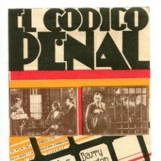 Cine: EL CÓDIGO PENAL, CON MARÍA ALBA.. Lote 132553362