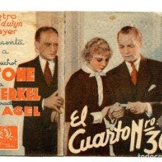 Cine: EL CUARTO Nº 309, CON FRANCHOT TONE. Lote 132558830