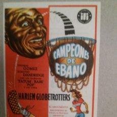 Cine: CAMPEONES DE EBANO - CINE MAIQUEZ. Lote 132591137