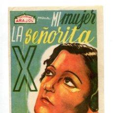 Cine: MI MUJER, LA SEÑORITA X, CON IREN AGAR.. Lote 132661794