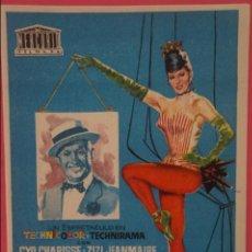 Cine: FOLLETO DE MANO PROGRAMA DE CINE LOS BALLETS DE PARIS SIN PUBLICIDAD LOTE 14. Lote 132877758