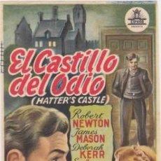 Cine: EL CASTILLO DEL ODIO. Lote 132948978