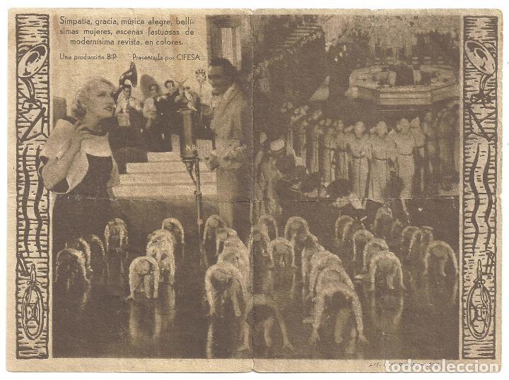 Cine: PTCC 016 RADIO REVISTA 1935 PROGRAMA DOBLE CIFESA PERIS ARAGO - Foto 2 - 133154690
