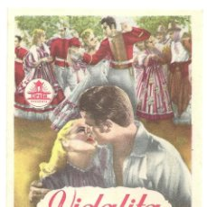 Cine: PTCC 019 VIDALITA PROGRAMA SENCILLO CIFESA MARTHA LEGRAND FERNANDO LAMAS NARCISO IBAÑEZ MENTA. Lote 133201206
