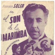 Cine: PTCC 017 AL SON DE LA MARIMBA PROGRAMA DOBLE CEC AMANECER FERNANDO SOLER JOAQUIN PARDAVE. Lote 133211942