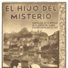 Cine: PTCC 018 EL HIJO DEL MISTERIO ALALA PROGRAMA DOBLE CAPITOLIO CINE ESPAÑOL ANTOÑITA COLOME. Lote 133231670