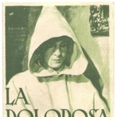Cine: PTCC 018 LA DOLOROSA PROGRAMA DOBLE PROCINES CINE ESPAÑOL ROSITA DIAZ. Lote 133232770