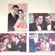 Cine: PTCC 021 MELODIA DE ARRABAL SET 4 PROGRAMAS TARJETA PARAMOUNT CARLOS GARDEL IMPERIO ARGENTINA. Lote 133243430