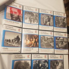 Cine: LA GUERRA CIVIL ESPAÑOLA - PACK DE DOCUMENTALES COMPLETO DE 11 DVD'S. Lote 133251034