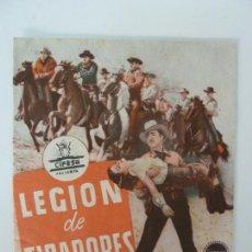 Cine: LEGIÓN DE TIRADORES. DOBLE SIN PUBLICIDAD. Lote 133254234