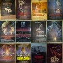Cine: COLECCION DE 14 POSTERS ORIGINALES PELICULAS DE MIEDO ANTIGUAS --70X100 CM APROX CADA UNO. Lote 133292886