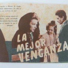 Cine: LA MEJOR VENGANZA. DOBLE. SELLO CINE. Lote 133340018