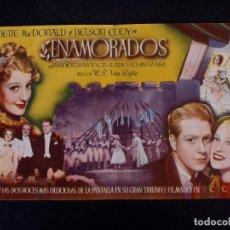 Flyers Publicitaires de films Anciens: ENAMORADOS. COLISEO ALBIA, BILBAO. Lote 133375918