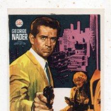 Cine: ASESINATO EN MANHATTAN. GEORGE NADER, HEINZ WEISS, MONIKA GRIMM,... AÑO 1967.. Lote 133524910