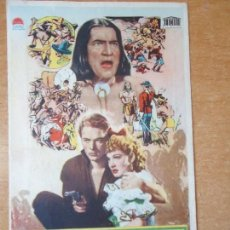 Cine: VENGANZA INDIA. PRESTON FOSTER, ELLEN DREW. WEATERNS, C/P. BORN-CAPITOL-HISPANIA. . Lote 133745790