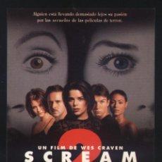 Cine: P-7648- SCREAM 2 (NEVE CAMPBELL - COURTENEY COX - DAVID ARQUETTE - SARAH MICHELLE GELLAR. Lote 133757062