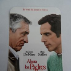 Cine: AHORA LOS PADRES SON ELLOS FOLLETO DE MANO ORIGINAL FORMATO CALENDARIO DE 2011. Lote 136105982