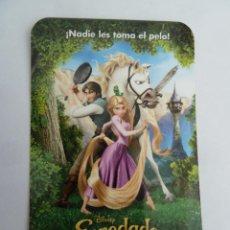 Cine: ENREDADOS FOLLETO DE MANO ORIGINAL FORMATO CALENDARIO DE 2011. Lote 297265863
