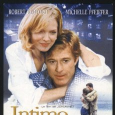 Cine: P-7655- INTIMO Y PERSONAL (UP CLOSE & PERSONAL) MICHELLE PFEIFFER - ROBERT REDFORD - KATE NELLIGAN. Lote 185994781