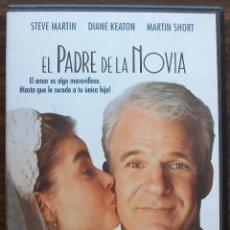 Cine: EL PADRE DE LA NOVIA. STEVE MARTIN / DIANE KEATON / MARTIN SHORT.. Lote 134012662