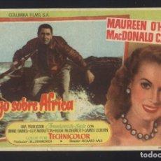 Cine: P-1883- FUEGO SOBRE AFRICA (MALAGA (FIRE OVER AFRICA)) MAUREEN O'HARA - MACDONALD CAREY. Lote 134057850