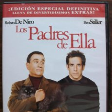 Cine: LOS PADRES DE ELLA. ROBERT DE NIRO / BEN STILLER. Lote 134061858