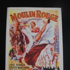 Cine: MOULIN ROUGE - CINE REX - ZARAGOZA. Lote 134067314