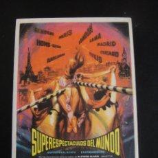 Cine: SUPERESPECTACULOS DEL MUNDO - SIN PUBLICIDAD. Lote 134067490
