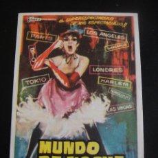 Cine: MUNDO DE NOCHE - CINE FANTASIO ALCAZAR. Lote 134067598