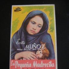 Cine: LA PEQUEÑA MADRECITA - CINE ELISEOS - ZARAGOZA. Lote 134068530